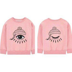 KENZO KIDS Edana Sweatshirt Pink Girls Size 5